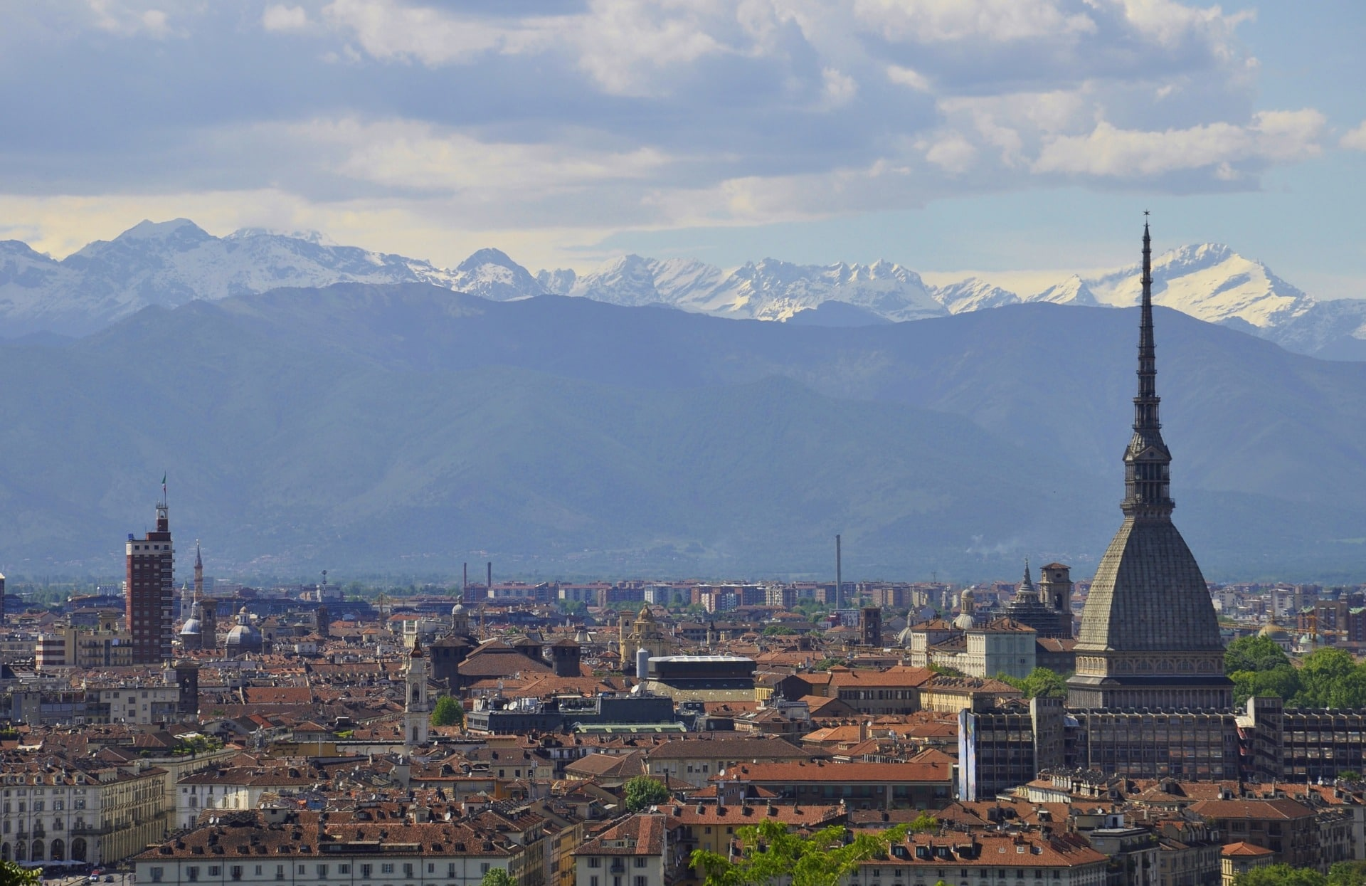 Torino and the Alps