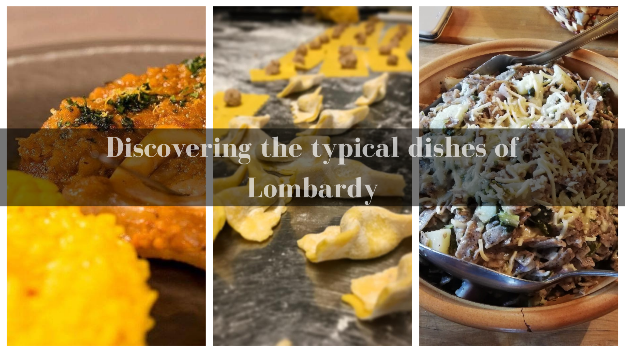 Discover the typical dishes of Lombardy
